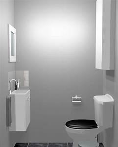 Deco Wc Gris : d co wc gris exemples d 39 am nagements ~ Melissatoandfro.com Idées de Décoration