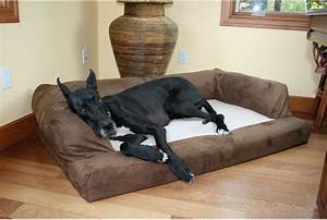 cozy dog beds for mastiff raised dog bed for mastiff big With big barker bed sale