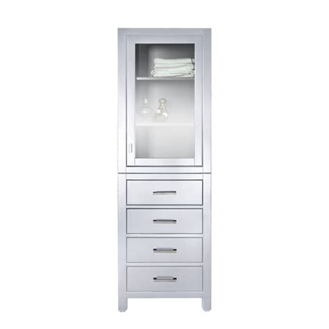 white linen cabinet 24 inch linen cabinet in white uvacmoderolt24wt