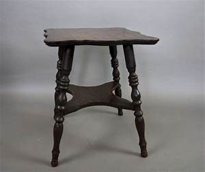 Small antique oak lamp table c1890 latest stock art for Oak lamp table 60cm high