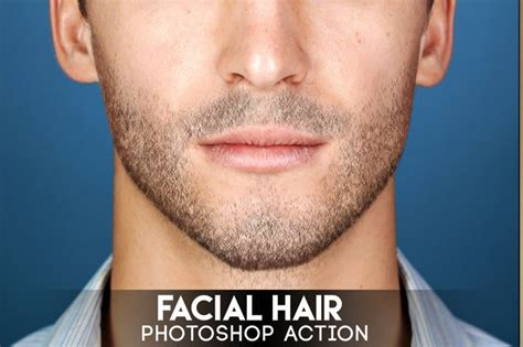 Facial Hair Photoshop Action By Eugene-design On Envato