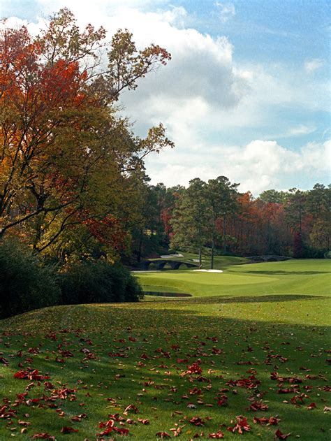 Photos What Augusta National Has Looked Like In The Fall