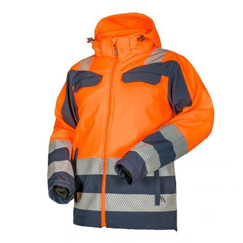 Jacket Hi-Vis orange Softshell LIGHTGO CANNYGO - DND Talis