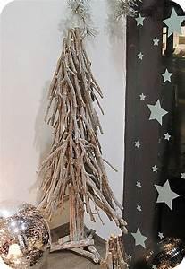 Branche De Bois Deco : decoration de noel avec des branches de bouleau ~ Teatrodelosmanantiales.com Idées de Décoration
