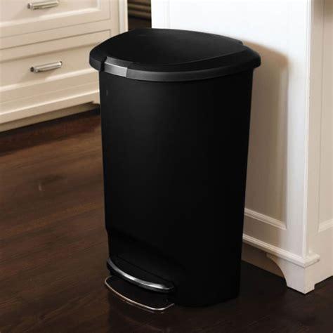 poubelle cuisine 50l poubelle de cuisine à pédale 50 litres en plastique demi
