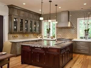 black high gloss wood large cabinet gray kitchen cabinets With kitchen colors with white cabinets with wood mosaic wall art