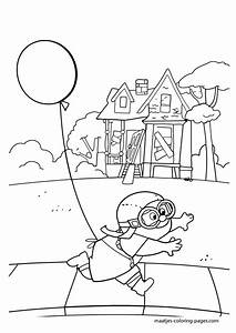 Pixar Up House Coloring Pages