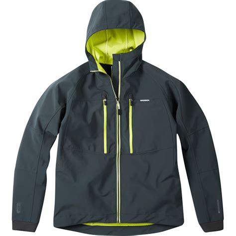 mtb softshell jacket madison zenith mens hooded softshell cycling jacket ss17