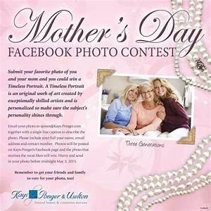 Mother's Day Facebook Photo Contest - Funeral Home ...