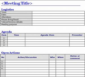 Minutes of meeting template word projectemplates for Standard minutes of meeting template