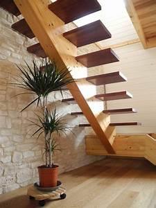 Escalier Bois Intérieur : escaliers construction de maisons en bois bbc dans les ~ Premium-room.com Idées de Décoration