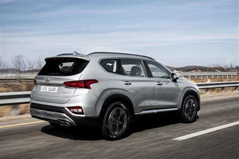 2019 Hyundai Santa Fe First Pictures Of Hyundai's New Suv