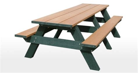 standard 8 foot table standard 8 foot picnic table waste wise products