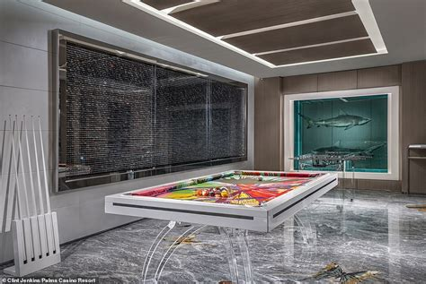 Artist Damien Hirst Unveils The Most Expensive Hotel Suite