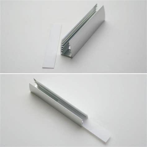 Led Für Glasböden by Led Alu Glaskanten Profil Eloxiert 7cm Zugeschn