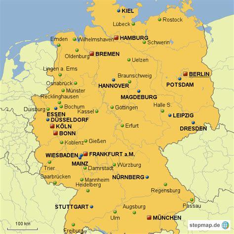 pin bundesrepublik deutschland landkarte  pinterest