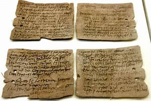 Ancient world blog quotwafer thinquot writing tablets of for Letter writing tablets