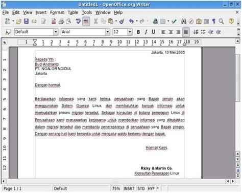 contoh surat lamaran masuk universitas contoh kr