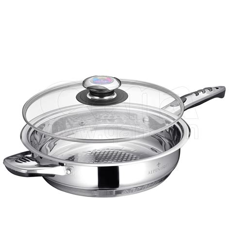 glass cookware stainless steel 16pcs promotion senior lid
