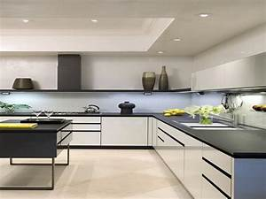 Luxurious touch applying a modern kitchen cabinets for Luxurious touch applying a modern kitchen cabinets