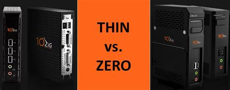 thin client   client differences zig
