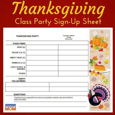 thanksgiving classroom sign up sheet thanksgiving 779 | d143d632c3c7ae3f089abbf29f0eadea