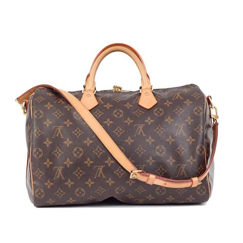 sold louis vuitton speedy bandouliere  luxity