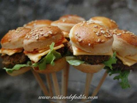 cuisine d hier et d aujourd hui les meilleures recettes de mini burger