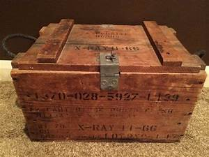 Vintage Wood Explosive Bomb TNT Crate XRay Box by ...