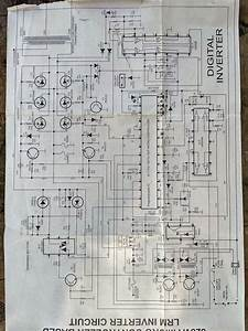 Pure Sinewave Inverter Diagram  Luminous Old Model