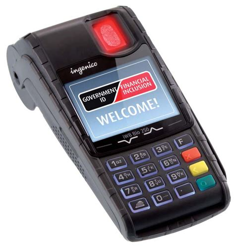 ingenico deploys biometric solution  benefit payments