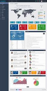 40 best html5 dashboard templates and admin panels 2017 responsive miracle for Dashboard template html5