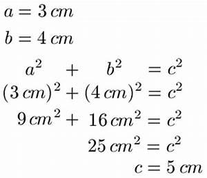 Pythagoras Berechnen : rechtwinkliges dreieck berechnen ~ Themetempest.com Abrechnung
