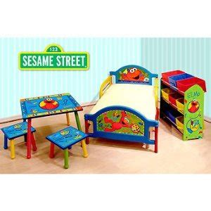 Elmo Toddler Bed Set by My Family Sesame Elmo Toddler Bed This Is A
