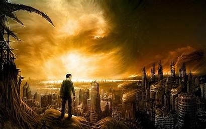Apocalypse Future Ruins Fantasy Tag