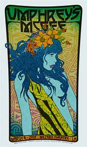 Umphrey's McGee and Leftover Salmon gig posters by Chuck ...