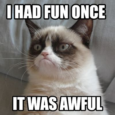 Grumpy Cat Meme I Had Fun Once - rupaul s drag race fixed gasp oh no they didn t