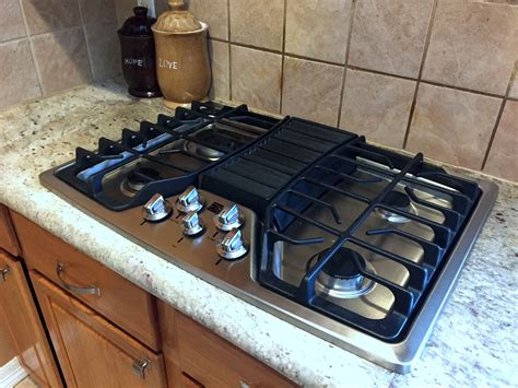 Gas Cooktop by Simple Ideas About 30 Gas Cooktop With Downdraft Homesfeed
