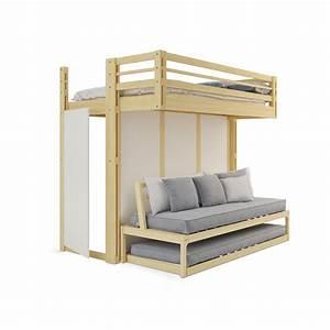 Lit Mezzanine Dressing : am nager son appartement la montagne espace loggia ~ Premium-room.com Idées de Décoration