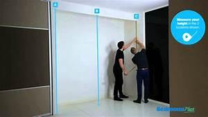 Space Pro Schiebetüren : how to measure for space pro sliding wardrobe doors by bedrooms plus youtube ~ Frokenaadalensverden.com Haus und Dekorationen