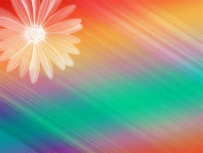 Backgrounds Powerpoint Ppt Colorful Background Slide Rainbow