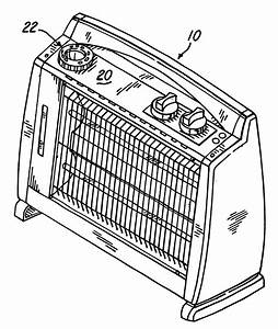 patent us6285829 radiant electric space heater google With electric heating