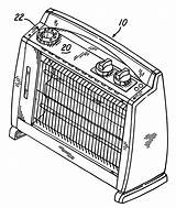 Heater Drawing Space Patents Electric Storage sketch template