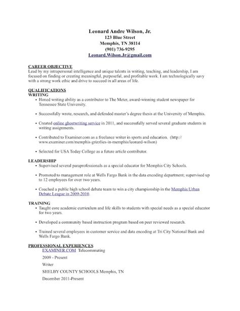 writing a winning resume competency b7 following my to success career tools sle resume featuring top three competencies
