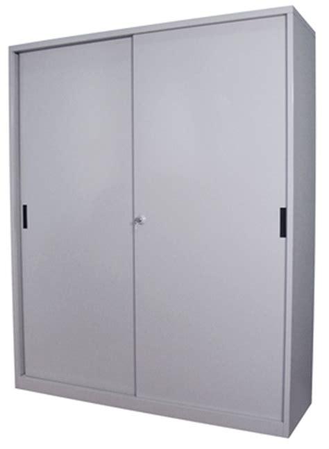 Sliding Cupboard Shelves by Steelco Steel Sliding Door Cupboard 1830h X 1500w X 465d 3