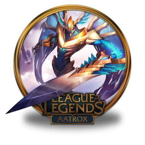 Aatrox Justicar Icon League Of Legends Gold Border