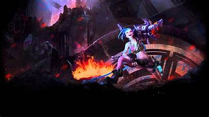 Jinx Wallpapers League Legends Dynamic Lol Animated