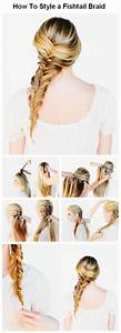 How To Style a Fishtail Braid | hair | Pinterest ...