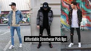 How To Style Streetwear | Mens Fashion Pick Ups 2018 - YouTube