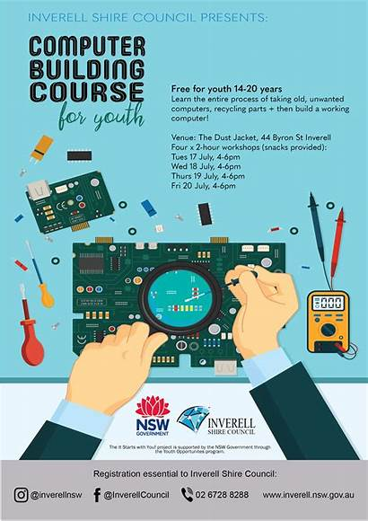 Computer Poster Building Workshop Course Nsw Inverell